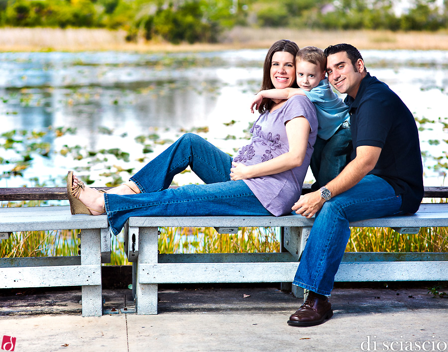 pregnancy photography of Javi and Marilyn Suarez in Miami, FL from Lisette and Alessandro Di Sciascio of Di Sciascio Photography, South Florida wedding photography from Fort Lauderdale wedding photographers.