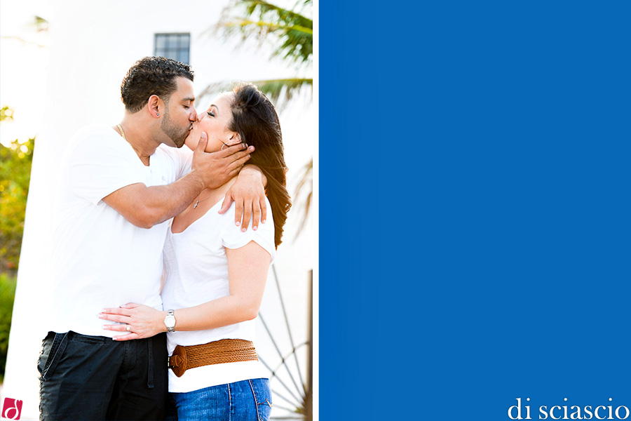 Engagement photography of Mari Ann Alsina and Harold Valenzuela in Miami, FL, from Lisette and Alessandro Di Sciascio of Di Sciascio Photography, South Florida wedding photography from Fort Lauderdale wedding photographers.
