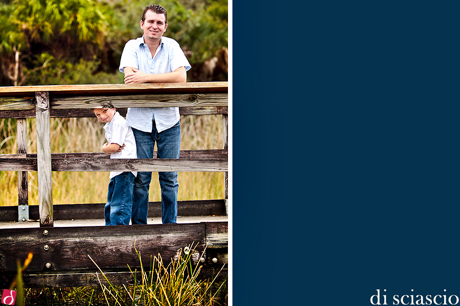 family photography of Pete and Melissa Kanenbley in Davie, FL from Lisette and Alessandro Di Sciascio of Di Sciascio Photography, South Florida wedding photography from Fort Lauderdale wedding photographers.