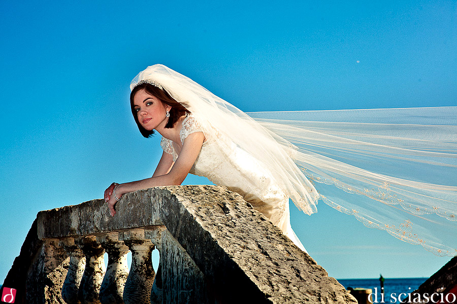 Bridal photography of Natalie De Diego in Miami, FL, Bridals at Vizcaya from Lisette and Alessandro Di Sciascio of Di Sciascio Photography, South Florida wedding photography from Fort Lauderdale wedding photographers. (10)